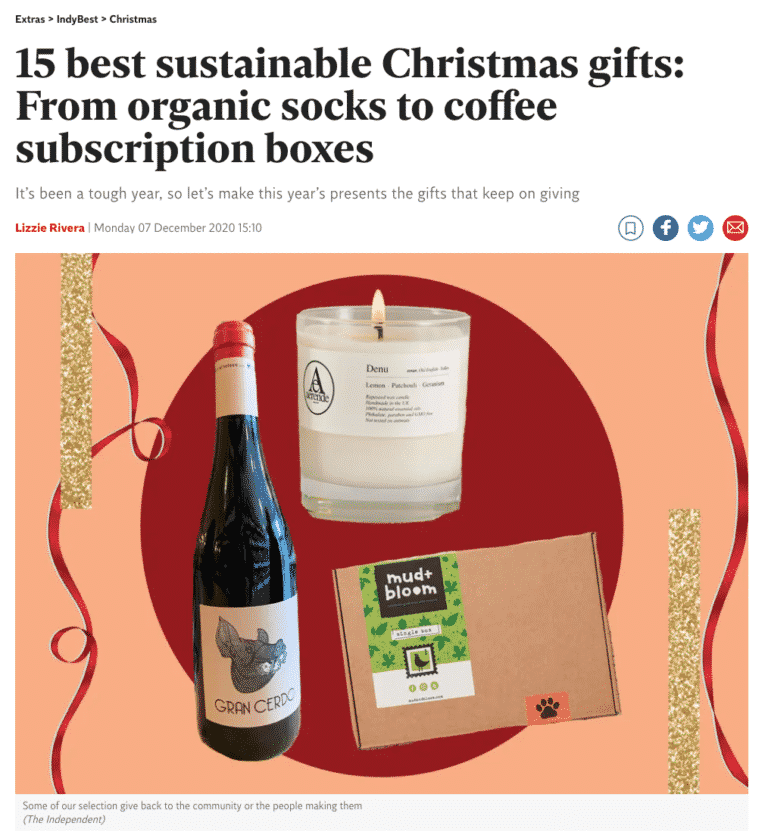 15 best sustainable Christmas gifts: From organic socks to coffee subscription boxes